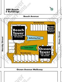 888 Beach Area Map