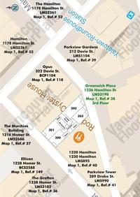 Greenwich Place Area Map