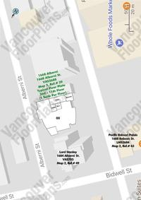 Heritage Strata Building Area Map