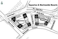 Marinaside Resort Area Map