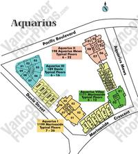 Aquarius II Area Map