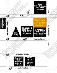 Gallery Area Map